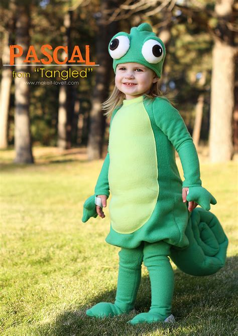 Halloween Costumes 2013 Pascal from Tangled Make It