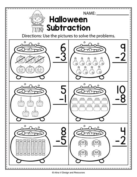 Halloween Printables Theme Unit Math Activities
