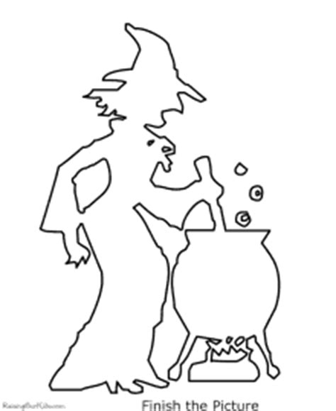 Halloween Witch Coloring Pages Raising Our Kids