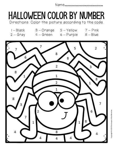 Halloween Worksheets and Coloring Pages tlsbooks