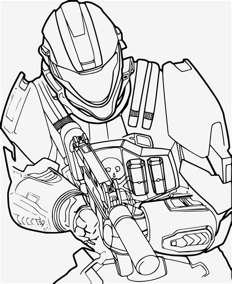 Halo Coloring Pages GetColoringPages