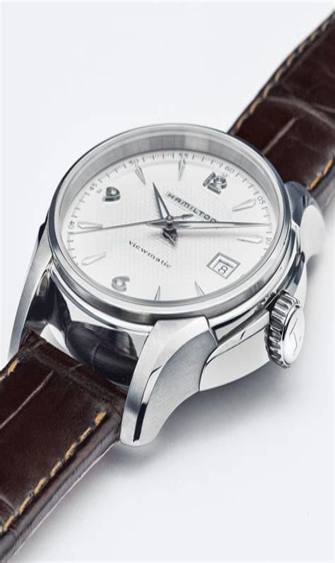 Hamilton Men s H32515555 Jazzmaster Silver Dial Watch