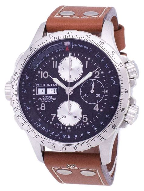 Hamilton Men s H77616533 Khaki X Chronograph Watch