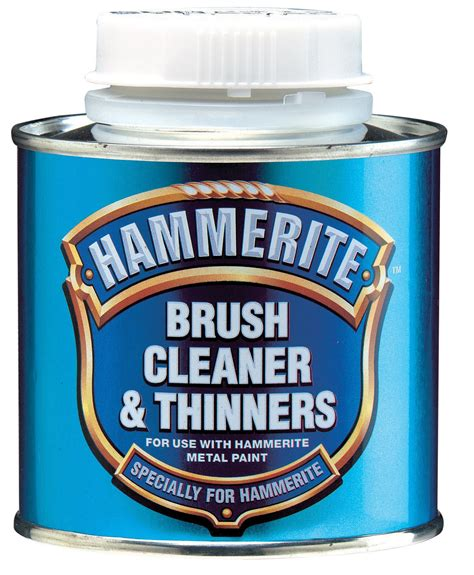 Hammerite Brush Cleaner Thinners 0 25L Departments