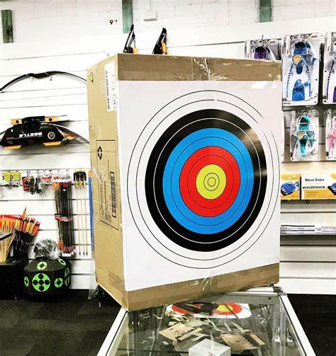 Hand Made Modern Wood Round Target