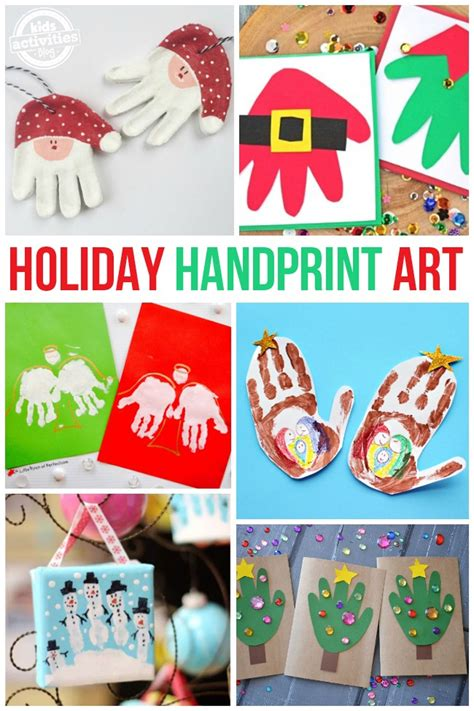 Handprint Poems Holiday and Seasonal Crafts for Kids