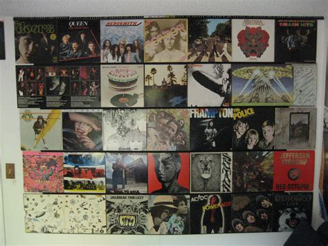 Hang Up Your Old Vinyl Records 3 Steps