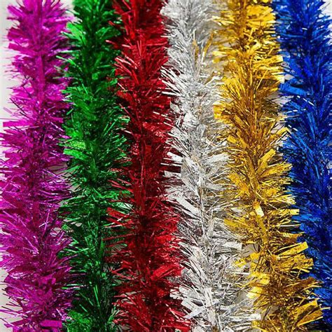Hanging Christmas Decorations Garlands Tinsel