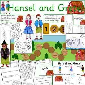 Hansel and Gretel Teaching Resources Story Sack