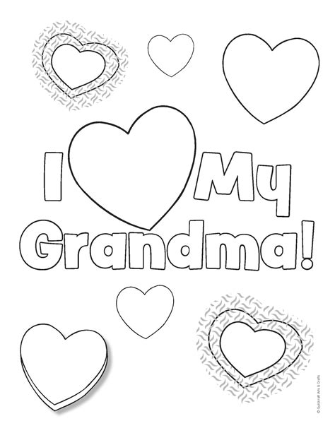 Happy Birthday Grandma Coloring Pages GetColoringPages