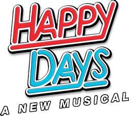 Happy Days musical Wikipedia