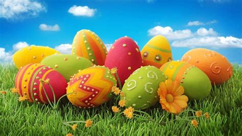 Happy Easter 2018 When is Easter Sunday Eggs Images