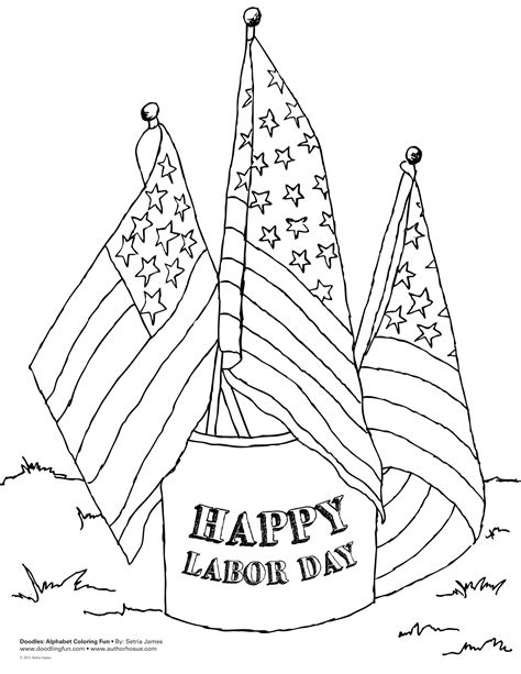 Happy Labor Day coloring page Free Printable Coloring Pages