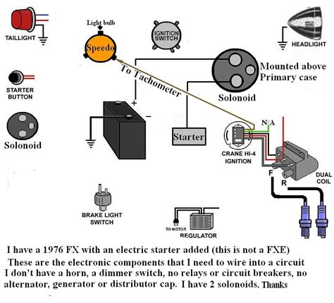 shovelhead points wiring diagram images diagram sportster harley points coil wiring harley wiring diagram and