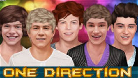 Harry One Direction Dress Up Girl Games