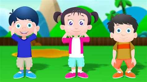 Head Shoulders Knees and Toes Kids Environment Kids