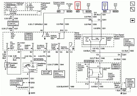 2004 chevy cavalier headlight wiring diagram images headlight wiring diagram for 2004 chevy impala headlight