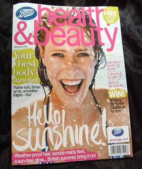 Health Beauty magazine Boots