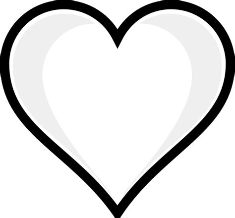 Heart Coloring Pages for Kids Free Printable Heart