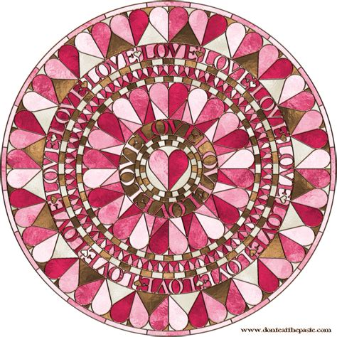 Heart Mandala Mandalas For The Soul