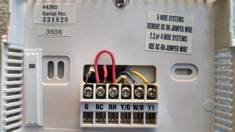 Heat Pump thermostat wiring DoItYourself Community