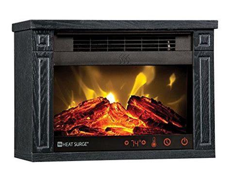 Heat Surge Black Mini Glo Efficiency Plus Touch