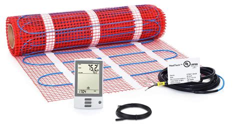 HeatTech Electric Radiant Floor Heating Systems for Tile