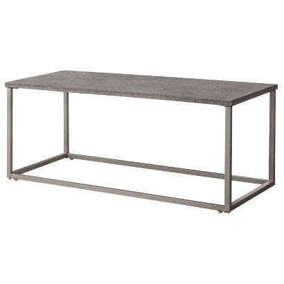 Heatherstone Metal Patio Coffee Table Threshold Target