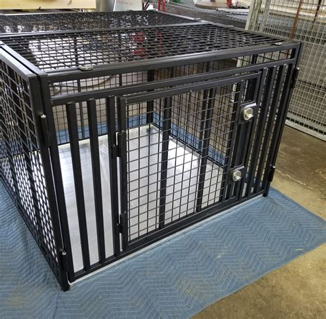 Heavy Duty Dog Crate Indestructible Escape Proof Down
