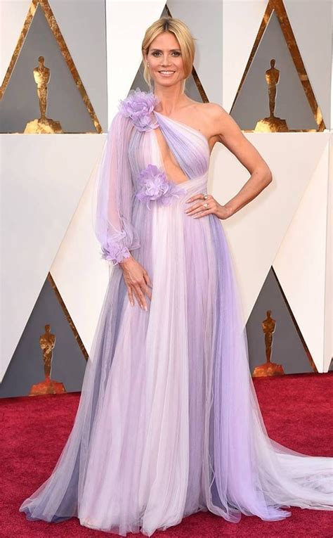 Heidi Klum Oscars outfit 2016 What s with the bridesmaid