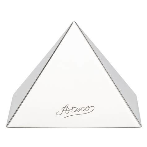 Hemisphere Pyramid Dessert Cake Moulds Bakedeco