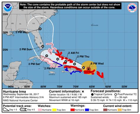 Here s the Destructive Path Hurricane Irma Is Carving