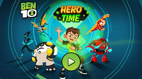 Hero Time Ben 10 Games Cartoon Network