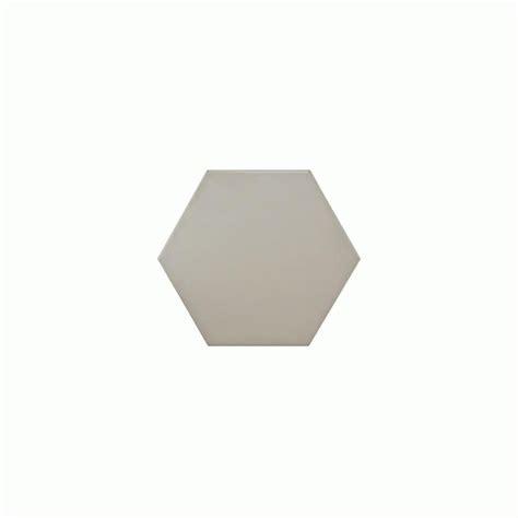Hexagon Matt White 14 2cm x 16 4cm Wall Floor Tile