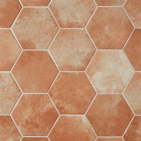 Hexagon Porcelain Tile Tile The Home Depot