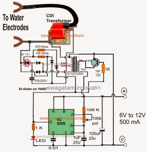 Hho Generator Wiring Schematic