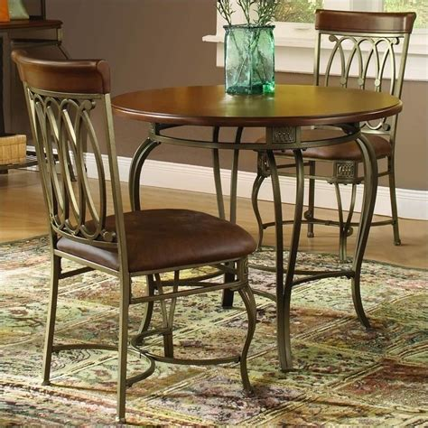 Hillsdale Montello Piece 36 Inch Round Dining Table Set