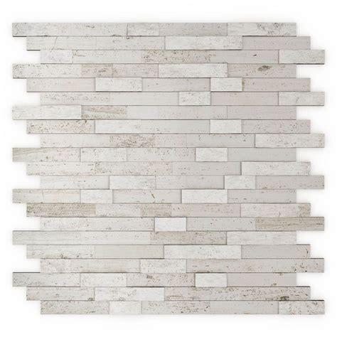 Himalayan 11 75 in x 11 6 in Stone Adhesive Wall Tile