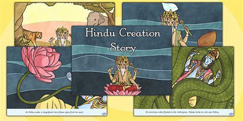 Hindu Creation Story Cards Hindu Mythology Resources