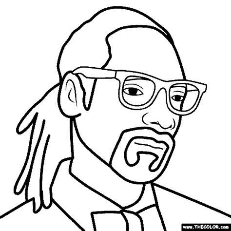 Hip Hop Rap Star Online Coloring Pages Page 1