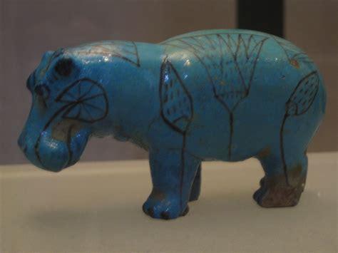 Hippopotamus figurine Louvre Museum Paris