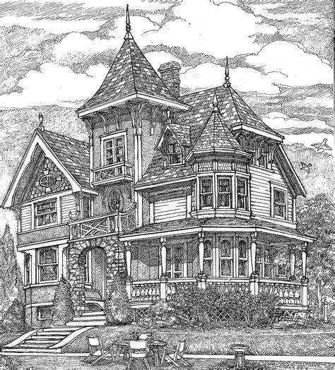 Historic House Floor Plans and Construction Designs with