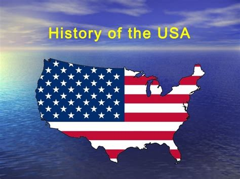 History of the United States of America USA Past