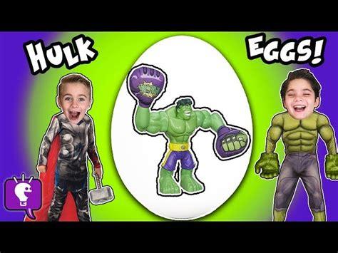 HobbyKidsTV Best Toy Reviews and Biggest Surprise Eggs