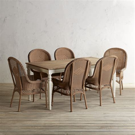 Holcomb Stone Turned Leg Table 7 Piece Dining Set Pier 1
