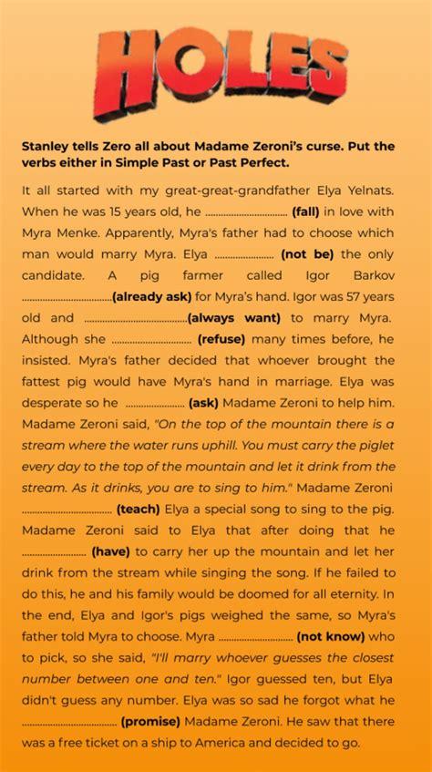 Holes by Louis Sachar Teacher Pages LessonPlansPage