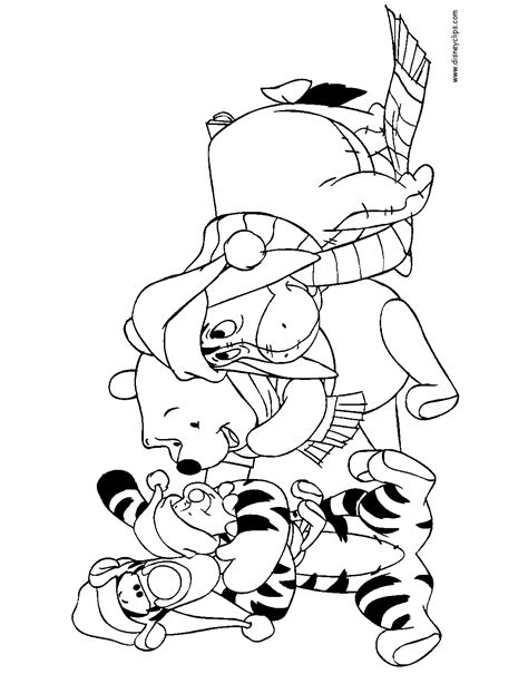 Holiday Coloring Pages Page 1 TheColor