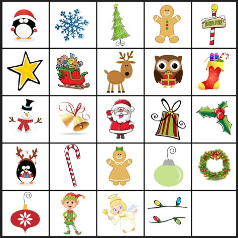 Holiday Memory Game games activity activities remember