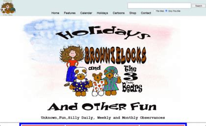Holidays And Fun From Brownielocks And The 3 Bears