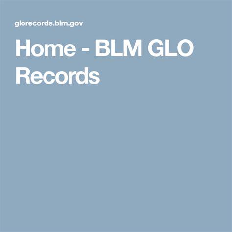 Home BLM GLO Records